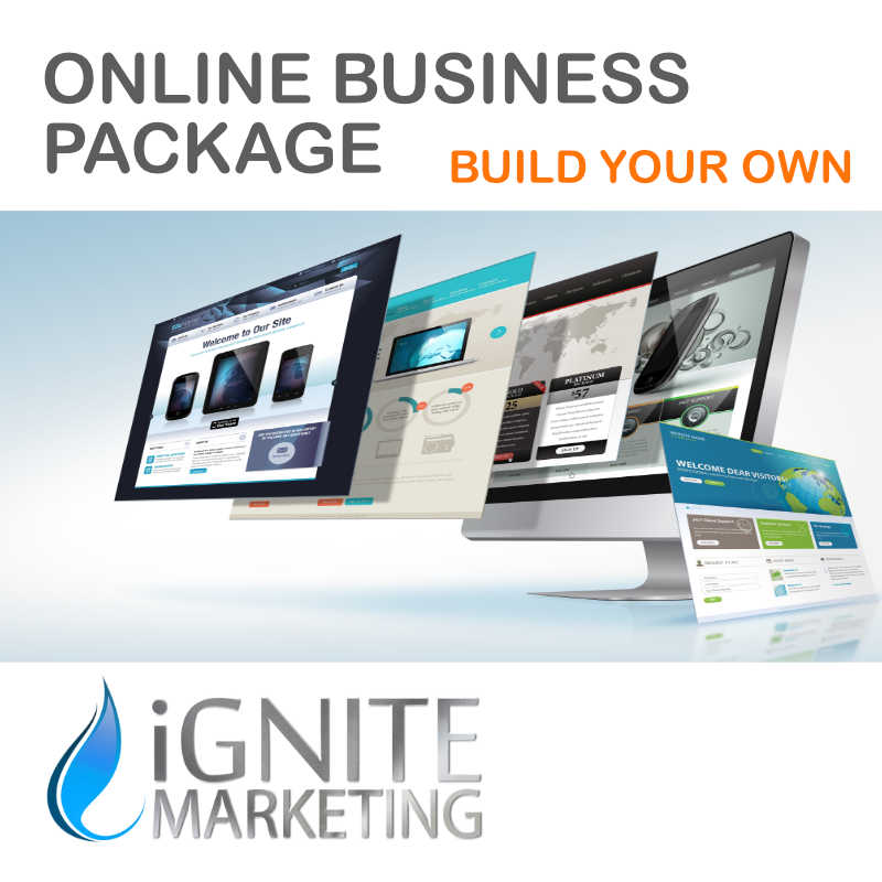 Online Business Package Build Your Own Ignite Marketing